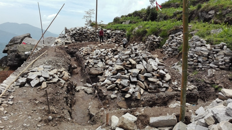 Buddhibikash BS_Excavation completed