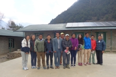 HTN teachers of khumbu