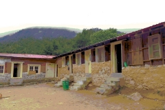 Gumela school repaired