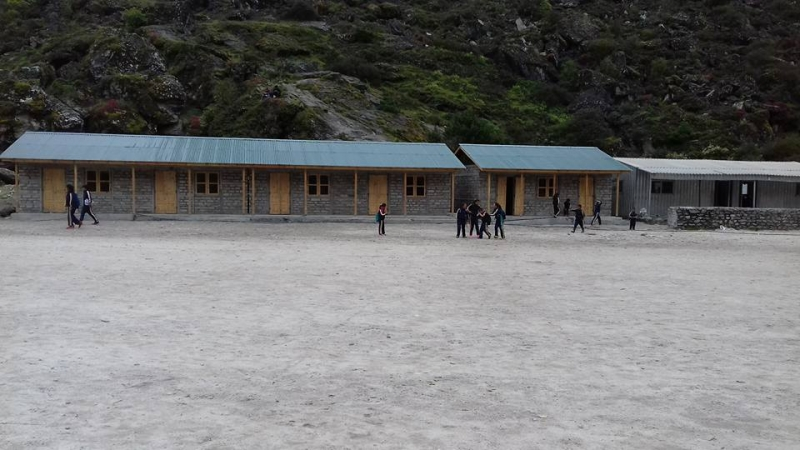 Khumjung SS-nearly completed