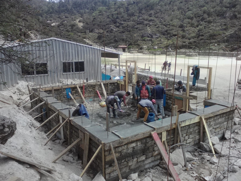 Khumjung SS_Sill completed_ECD