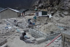 Khumjung SS_Wall above DPC-4Room