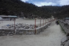 Khumjung-Compound wall
