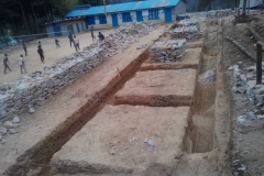 Yuba Barsha BS_Excavation of Foundation