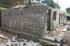 Buksa BS_Wall up to lintel completed