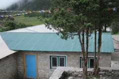 Completion of reconstruction of Main Hospital Block back view