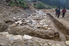 3. Excavation of foundation_Junbesi SS_SW