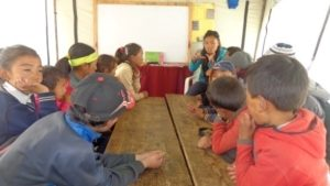 C:\Users\Himalayan Trust\Desktop\2016 HTN Activities\Annual Report 2016\AHF Report May 2016\Teacher telling story, Thame LSS.JPG